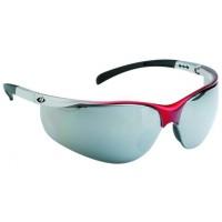Ochelari de protectie Mervel Rozelle UV 50103638, rosu + argintiu