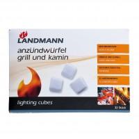 Cuburi pentru aprins focul Landmann, 32 buc
