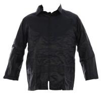 Jacheta de protectie Gantex EJ3 Kpnp, fas, impermeabila, bleumarin / verde, cu gluga, marimea L