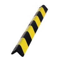 Protector colt din poliuretan PU-19, negru-galben, 100 cm, grosime 18 mm