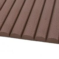 Carpeta tip acordeon, maro, 90 cm, grosime 9 mm