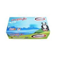 Servetele Misavan, albe, 1 strat, 150 buc / cutie