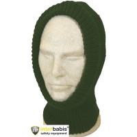 Capison tricotat Interbabis EC30, bumbac + acril, verde