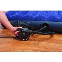 Pompa aer pentru produse gonflabile, electrica 220 V, Intex 66624 + 3 adaptoare