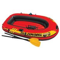 Barca gonflabila / pneumatica Intex 58356NP Explorer, pentru 2 persoane, 196 x 102 x 33 cm
