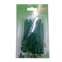 Accesorii pentru legat plante Versay P1, polietilena, 50 buc