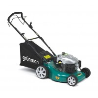 Masina tuns iarba, pe benzina Grunman DYM1668, cu autopropulsie, 3.8 CP, 2.8 kW