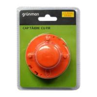 Cap cu fir pentru motocoase / trimmere, Grunman, D 1.6 mm, L 2 x 4 m