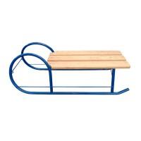 Sanie pentru copii, metal + lemn, 94 x 29 x 24 cm