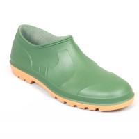 Pantofi PVC de gradina Belldan, verde, marimea 40