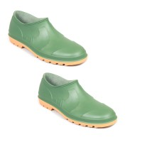 Pantofi PVC de gradina Belldan, verde, marimea 43