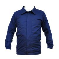 Bluza salopeta, bleumarin, buzunar frontal, marime 50