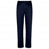 Pantalon Clasic, bumbac + poliester, bleumarin, marimea 48