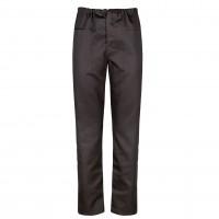 Pantalon Clasic, bumbac + poliester, gri, marimea 48