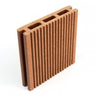 Pardoseala WPC D100X20R, exterior, maro roscat, 100 x 20 x 4000 mm