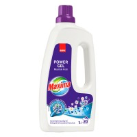 Detergent de rufe Sano Maxima Power Gel Mountain Fresh, 20 spalari, 1 L
