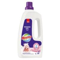 Detergent de rufe gel Sano Maxima Baby, 20 spalari, 1 L