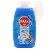 Odorizant wc baie Peak, gel, marin, 400 ml