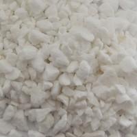 Marmura decorativa naturala sparta, interior / exterior, alba, 5-8 mm,10 kg