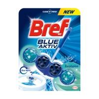 Odorizant wc baie Bref Blue Aktiv Eucalipt, 50 g