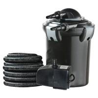 Set pompa electrica Heissner Smartline, pentru recirculare apa, 2000 l/h + lampa UV, 7 W + accesorii