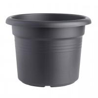 Ghiveci din plastic Green Basic, negru D 25 cm