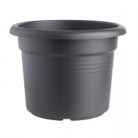 Ghiveci din plastic Green Basic, negru D 30 cm