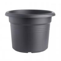 Ghiveci din plastic Green Basic, negru D 45 cm