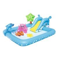 Piscina gonflabila Bestway Aquarium 53052 pentru copii 239 x 206 x 86 cm