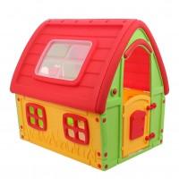 Casuta copii, pentru gradina, din plastic, 123.5 x 103.5 x 121.5 cm
