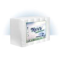 Hartie pentru dispenser Z fold Neve Profesional, alba, 2 straturi, celuloza, 200 bucati / set, 5 seturi / tipla