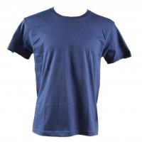 Tricou maneca scurta, bumbac 100 %, bleumarin, marimea 56-58 (XL)