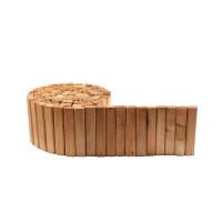 Bordura din lemn, pentru gradina, 320 x 2.8 x 18 cm