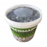 Marmura decorativa naturala rotunjita, interior / exterior, verde, 10-30 mm, 15 kg