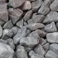 Piatra decorativa naturala rotunjita, interior / exterior, neagra, 10-20 mm, 15 kg