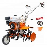Motocultor pe benzina Ruris 710 K, 7.5 CP, 3 viteze + roti transport + rarita