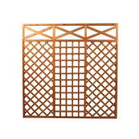 Gard lemn traditional, pentru gradina, 180 x 180 cm