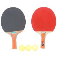 Palete 2 bucati + mingi 3 bucati, pentru tenis de masa