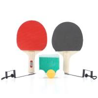 Palete 2 bucati + mingi 3 bucati + fileu pentru tenis de masa