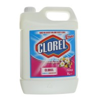 Clor inalbitor pentru rufe Clorel, parfum floral, 5 L