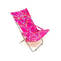 Scaun plaja Long SGCL-3436, pliabil, metal + material textil, diverse culori, 120 x 61 x 85 cm