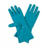 Manusi pentru lucrari cu apa Gardena, latex, albastru, marimea 9 / L