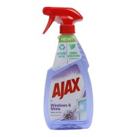 Detergent geamuri Ajax Windows & Shine, cu pulverizator, 500 ml