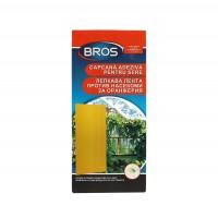 Capcana adeziva Bros, pentru insecte de gradina, set 10 buc