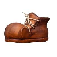 Figurina ghiveci bocanc 2, din ceramica, decoratiune gradina