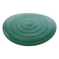 Capac pentru butoi 500 litri Plastor, PEHD, verde, D 101 cm