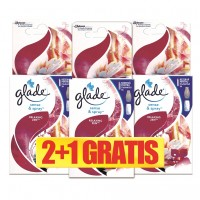 Odorizant camera Glade Sense & Spray, rezerva, relaxing zen, 3 x 18 ml