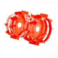 Roti metalice pentru motocultor Ruris TS103, d 40 cm (1 bucata = 1 set 2 roti)