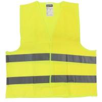 Veste semnalizare cu banda reflectorizanta, Neon 9195, marimea  XL, galben