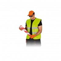 Veste semnalizare cu banda reflectorizanta, Neon 9195, marimea  XXXL, galben
